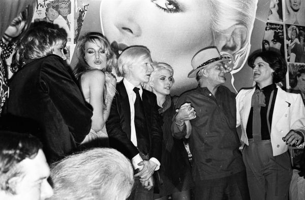 jerry hall andy warhol Blondie truman capote paloma picasso 1979