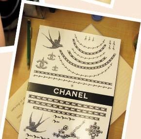 Chanel Tattoos