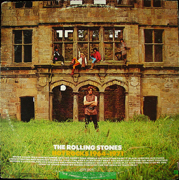 Back Cover Rolling Stones Hot Rocks Album