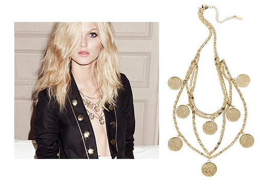 Reiss Corrine sovereign necklace £79 PS