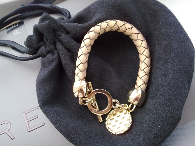 Reiss Woven leather bracelet €32
