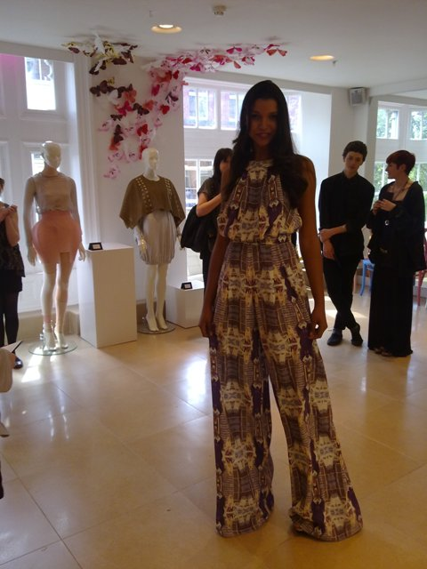 Sile O'Shea NCAD River Island Bursary Winner design model