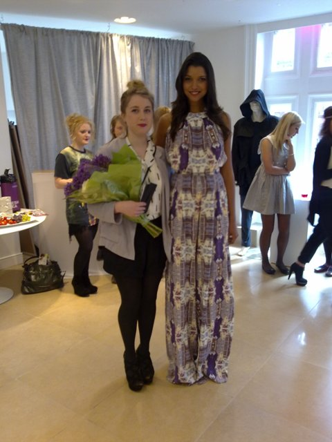Sile O'Shea NCAD River Island Bursary Winner model