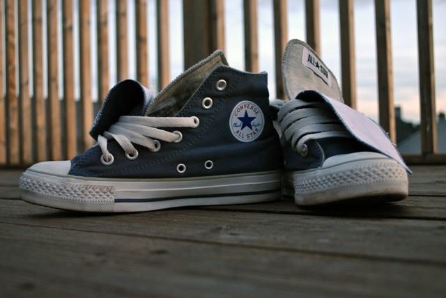 Converse double tongue All Stars 2 lores