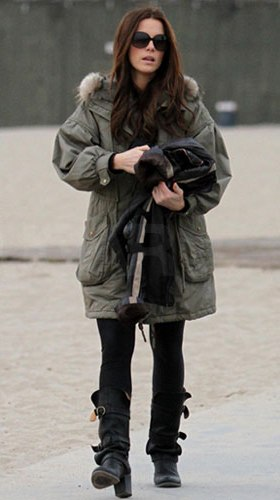 Kate Beckinsale Parka
