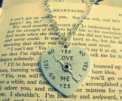 Love me yes or no pendant Zara Taylor