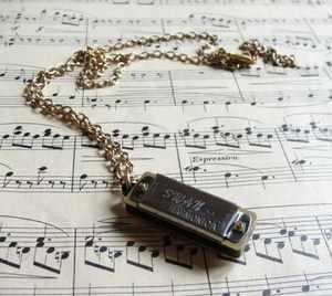Miniature Hermonica Pendant Zara Taylor