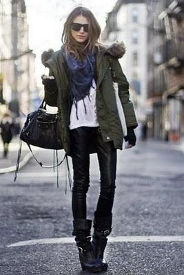 Street Style Parka Trendtastic-ny