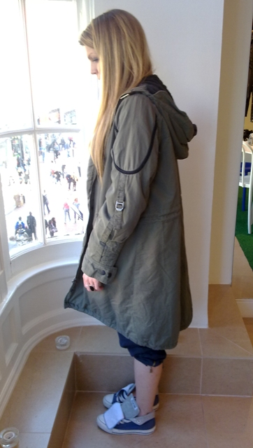 whisty river island Parachute parka