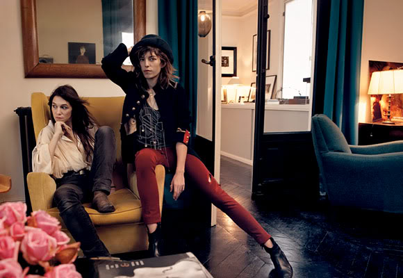 charlotte gainsbourg lou doillon whisty. Black Bedroom Furniture Sets. Home Design Ideas