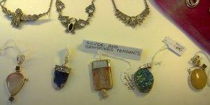 Unique Jewellery & Gifts Dublin silver & gemstone pendants