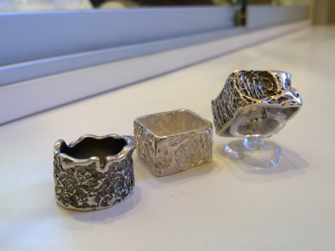 Unique Jewellery & Gifts Dublin silver square rings