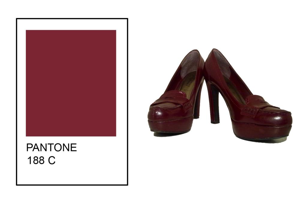 Maroon High Heel Shoes