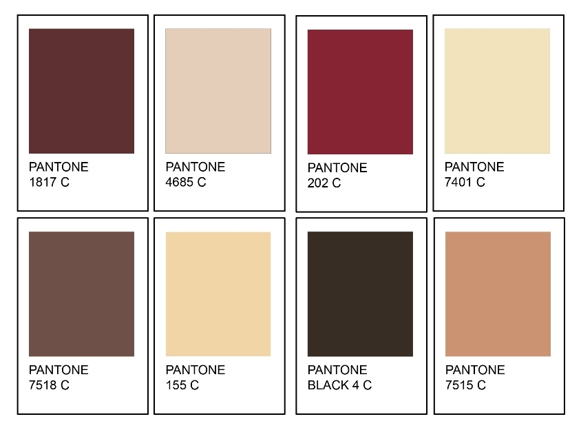 Shoes Swatches Whisty Pantone Palette Inspiration SS11