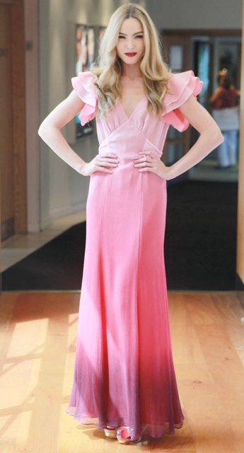 lucy-in-disguise-lily-allen-pink-chiffon-maxi-dress