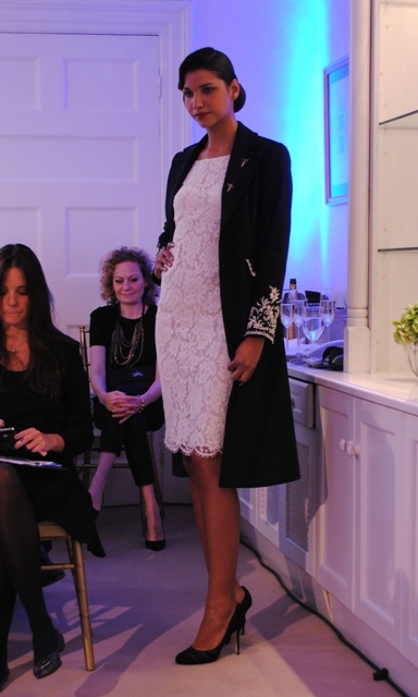 Louise Kennedy AW11 Coat Whisty