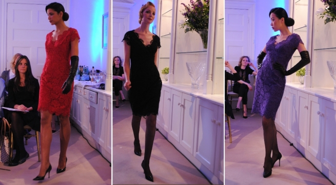 Louise Kennedy AW11 lace dresses Whisty