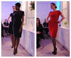 Louise Kennedy AW11 Layered Dresses Whisty