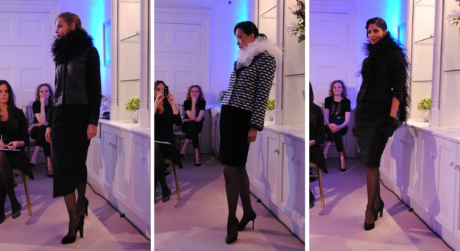 Louise Kennedy AW11Tweeds and Feathers Whisty