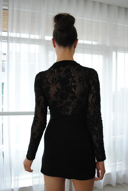 River Island christmas 2011 90's lace dress