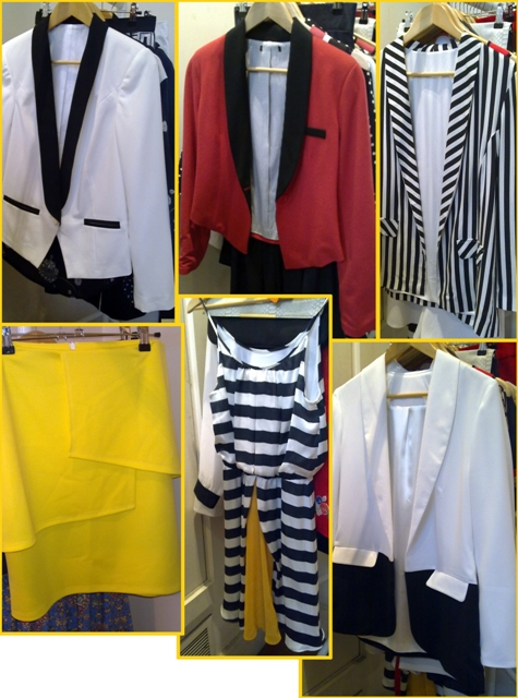 Penney's Primark SS 2012 monochrome & brights whisty