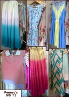 Penney's Primark SS 2012 pastel chiffon skirts whisty
