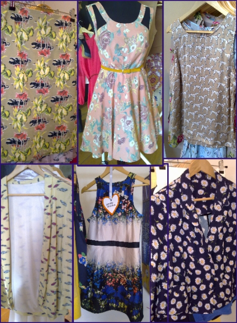 Penney's SS 2011 prints cars floral whisty