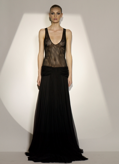 Jay Ahr black sheer dress Brown Thomas €4375 whisty