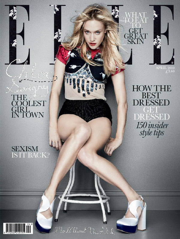Chloe sevigny miu miu cover elle uk 2012 whisty for Elle subscription change address