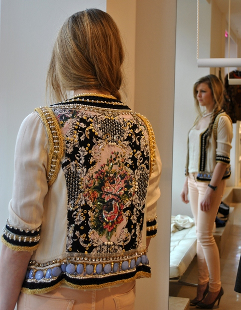 River Island AW'12 Embellished Jacket Baroque Whisty