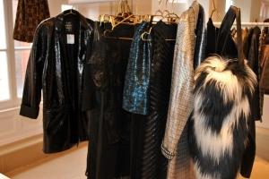 River Island AW'12 Goth faux fur