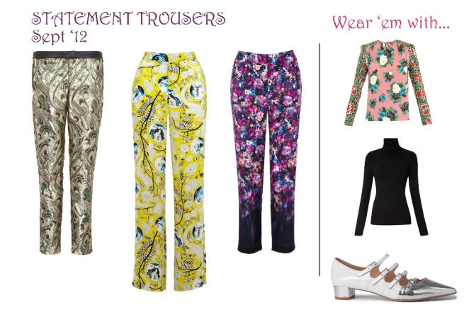 Statement Trouser Sept '12 Whisty Metro Column
