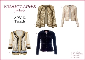 Embellished Jackets AW'12 whisty