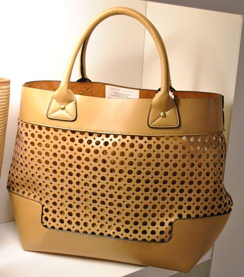 New Look SS'13 Latice cut out leather bag whisty