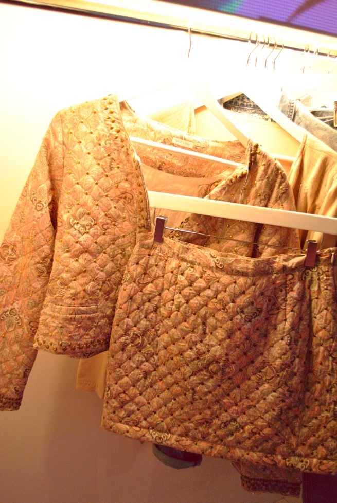 New Look SS13 Quilted Studded Baroque Suit