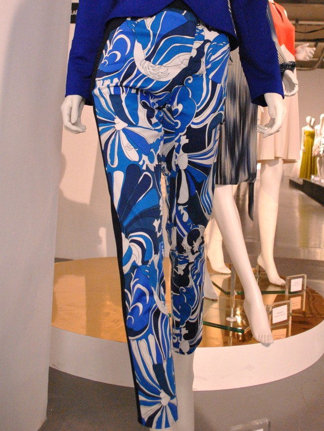 Ossie Clark Blue Psychedelic Trousers Whisty 2