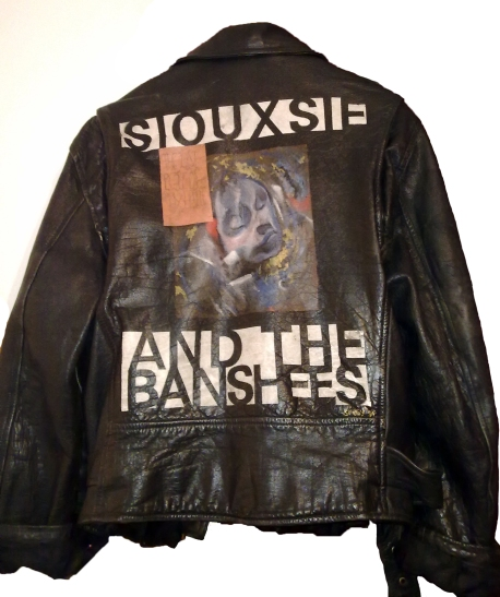 Siouxsie Banshees Last Beat of My Heart Leather Tour Jacket Whisty
