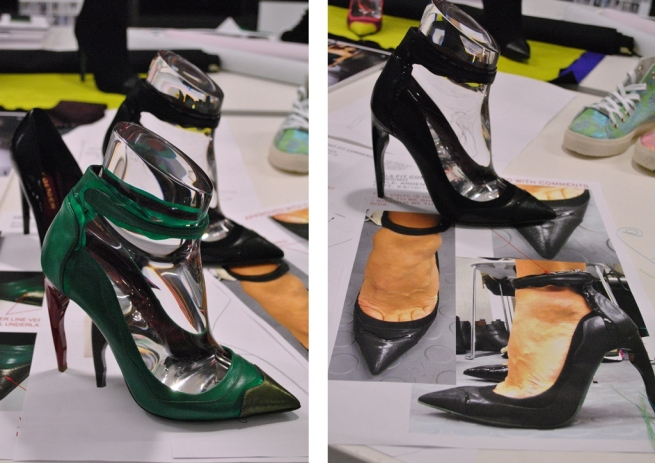 Kurt Geiger SS13 Arden Heels Sketches Green Leather 1
