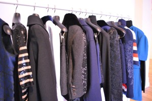 Louis Vuitton Pre Fall Collection Black & Blue Lace 2013