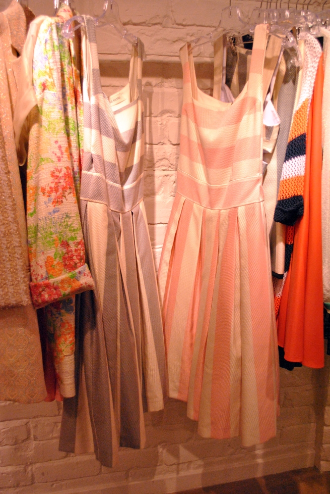 Rive Island Spring Summer 2013 Collection 50's inspired striped dresses