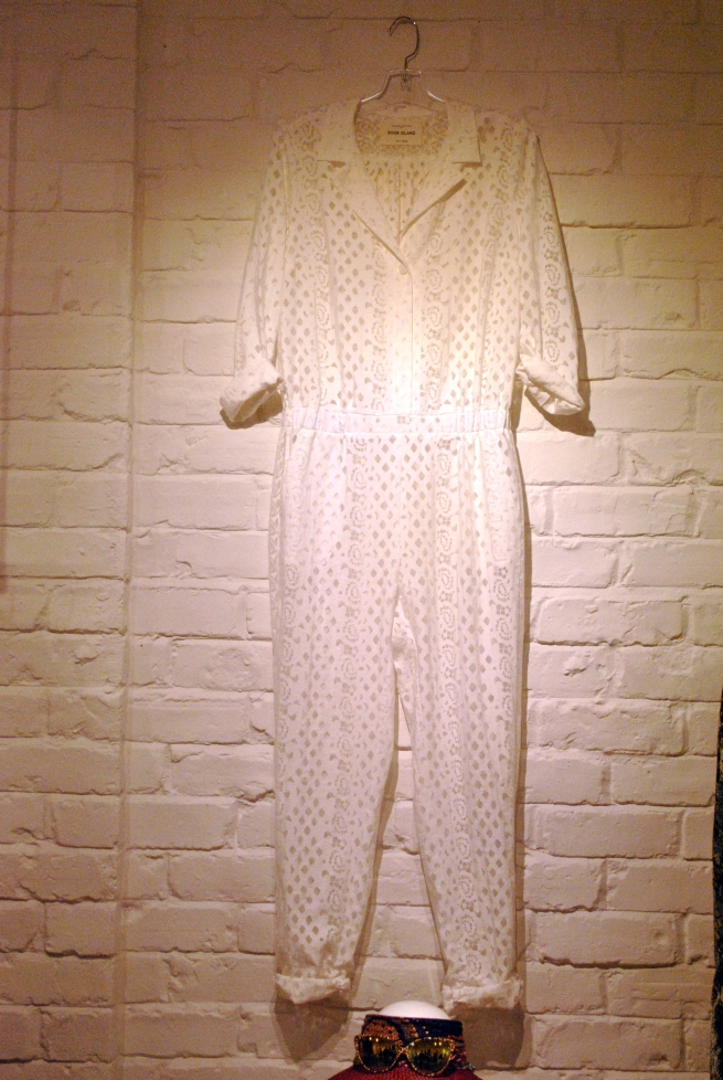Rive Island Spring Summer 2013 Collection white lace jumpsuit