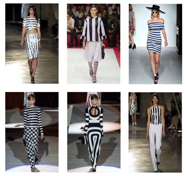 SS 2013 Striped Trend PPQ Marc Jacobs