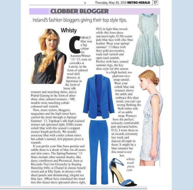 SS'13 Blue Trends