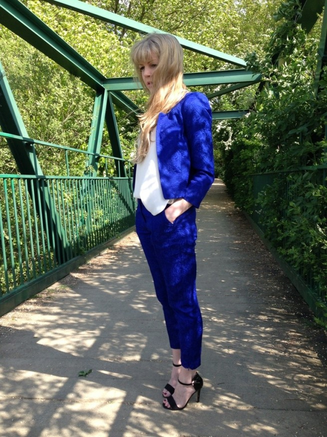 Whisty Street Style Blue Topshop Suit Primark Sandals 2013 (2) lo