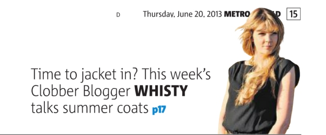 Whisty Clobber Blogger June 2013 Header