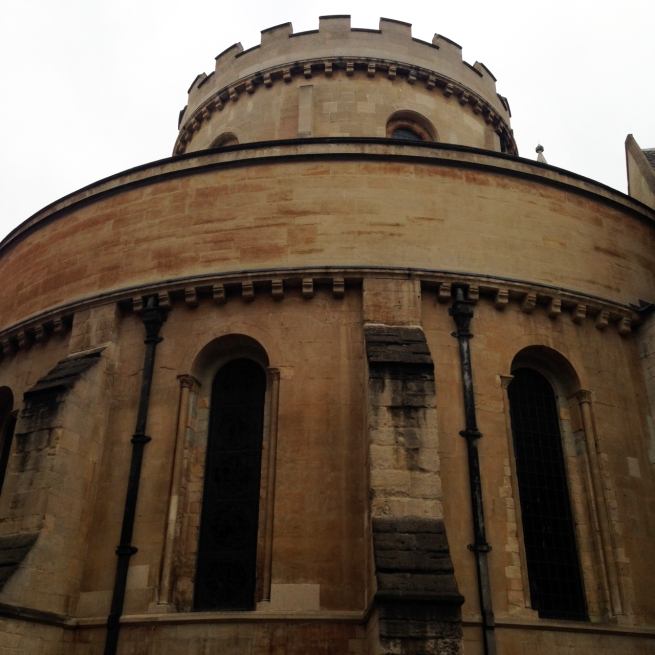Temple Church London Outside Round Tower (1)